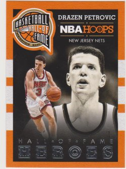2013-14 Panini Hoops Drazen Petrovic Hall of Fame Heroes