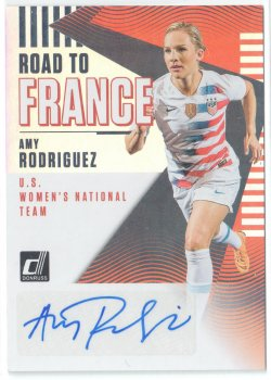 2019 Donruss Road to France Autographs Amy Rodriguez