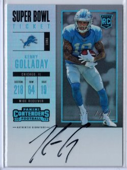2017 Panini Contenders Kenny Golladay