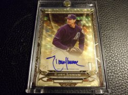 2016 Topps Tribute Rightful Recognition Superfractor Autographs Randy Johnson