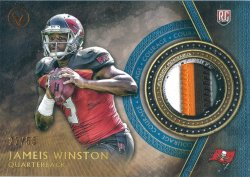 2015 Playoff Valor Courage 4 Color Patch Jameis Winston Rookie Jersey
