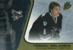 2002/03  Pacific Quest for the Cup Gold Selanne