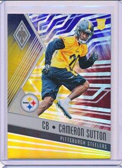 Cameron Sutton 2017 Panini Phoenix Color Burst RC