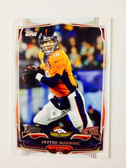 2014 Topps Player of The Year Peyton Manning