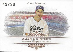 2007 Topps Allen and Ginter Rip Card