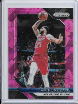 2018-19 Panini Prizm Anthony Davis Pink Ice