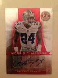 2012 Panini Totally Certified Morris Claiborne