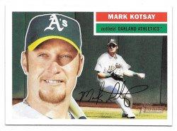 2005 Topps Topps Heritage Mark Kotsay (SP)