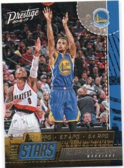 2016-17 Panini Prestige Curry, Stephen - Stat Stars