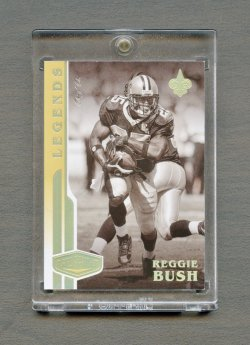 2020 Panini Plates and Patches Gold #112 Reggie Bush 1/1
