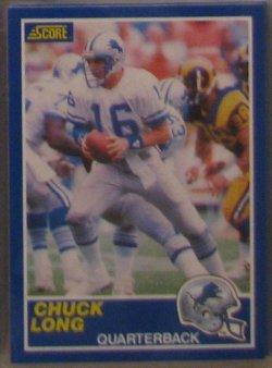 1989 Score  #16 - Chuck Long