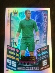 2012 Topps Match Attax Limited Edition # 3 Joe Hart