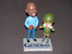 2016  The General Insurance Shaq Rides With The General Bobblehead