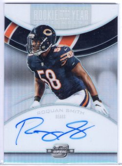 2018 Playoff Contenders Optic Roquan Smith Rookie of the Year Contenders