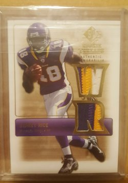 2007 Upper Deck Rookie Threads Sidney Rice