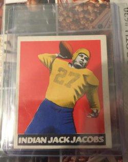 """1948 Leaf  Jack """"Indian"""" Jacobs"""