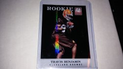 2012 Donruss elite  travis benjamin