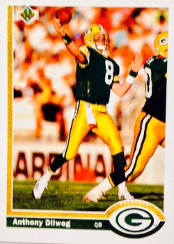 1991 Upper Deck  Anthony Dilweg #214
