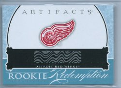 2013 Upper Deck Artifacts Rookie Redemption Red Wings