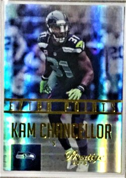 2015 Panini Prestige XTRA POINT KAM CHANCELLOR GOLD