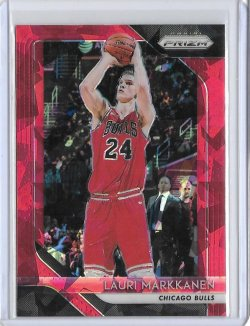 2018-19 Panini Prizm Lauri Markkanen Red Ice