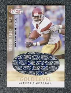 2006 SAGE Autographs Gold #A8 Reggie Bush/30