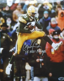 "Craig Newsome 8x10 Auto ""SB XXXI Champs"" Inscription"