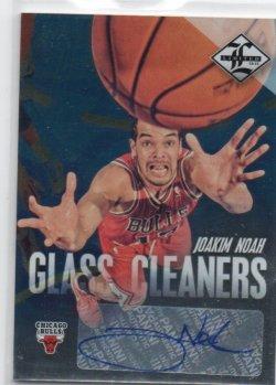 2012-13 Panini Limited Noah, Joakim - Glass Cleaners Signatures