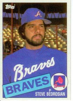 1985 Topps Topps Chewing Gum Steve Bedrosian - P