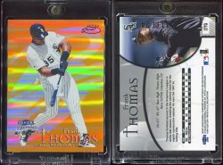 1999  Fleer Brilliants 24 Karat Frank Thomas