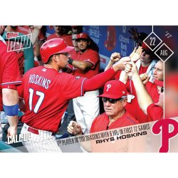 2017 Topps Now Rhys Hoskins