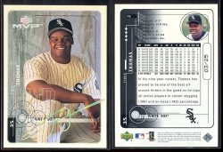 1999 Upper Deck MVP Super Script Frank Thomas