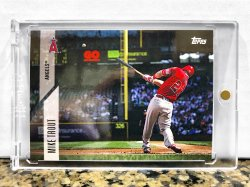 2017 Topps Cyber Weekend Promo Mike Trout