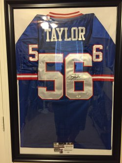 Mitchell & Ness Lawrence Taylor Autographed Jersey