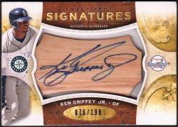 2009   Ken Griffey Jr. Sweet Spot Signatures Auto /199