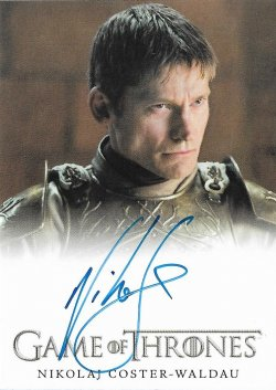 2018  Rittenhouse Game of Thrones Season 7 Full Bleed Nikolaj Coster-Waldau as Ser Jaime Lannister