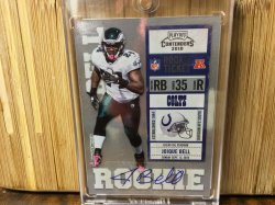 2010 Panini Contenders Joique Bell - SP