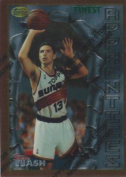 1996-97 Topps Finest  Steve Nash