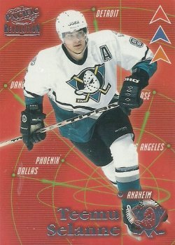 1998/99  Pacific Revolution Three Pronged Attack Parallel Selanne