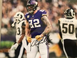Kyle Rudolph Personalized 8x10