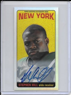 2012 Topps Chrome 1965 Refractor Autograph - Stephen Hill