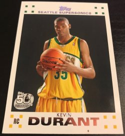 Topps  kevin durant