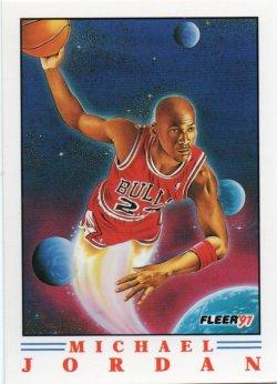 1991-92 Fleer  Jordan, Michael - Pro-Visions