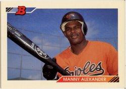 1992 Bowman  Alexander, Manny