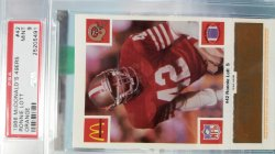 1988  McDonalds  Ronnie Lott - - Gold/Orange
