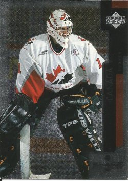 1997 Upper Deck Black Diamond Roberto Luongo