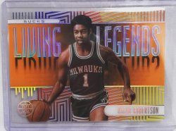 2019 Panini illusions Oscar Robertson Living Legends orange
