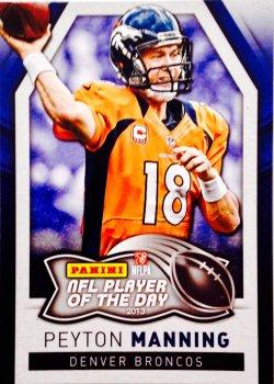 2013 Panini POTD Peyton Manning