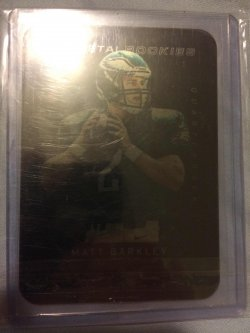 2013 Panini Black Matt Barkley Metal