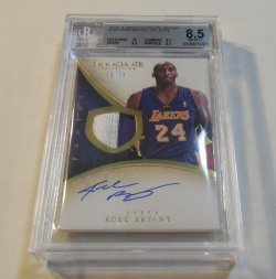 2013/14 Panini Immaculate Collection Kobe Bryant patch autograph